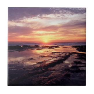 Carreau La Californie, San Diego, falaises de coucher du