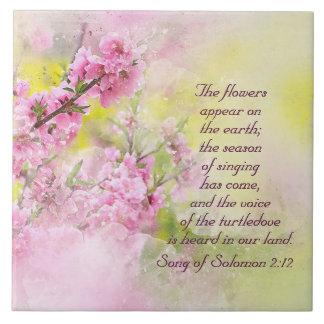 Carreau La chanson des fleurs de 2h12 de Solomon