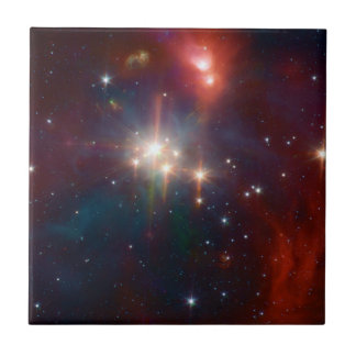Carreau La NASA infrarouge de groupe d'étoile de Coronet