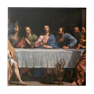 Carreau La peinture de dernier dîner