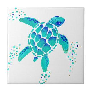 Carreau La tortue de Neptune