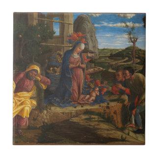 Carreau L'adoration des bergers