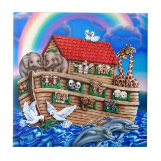 Carreau L'arche de Noé
