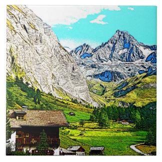 Carreau l'Autriche - großglockner q de dessin