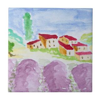 Carreau Lavande Fields Abbaye de Senanque | Provence