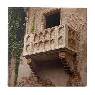 Carreau Le balcon de Juliet