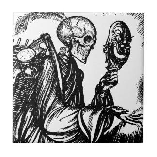 Carreau Le décès appelle