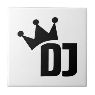 Carreau Le DJ soutiennent le gagnant