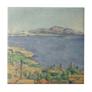 Carreau Le Golfe de Marseille vu de L'Estaque