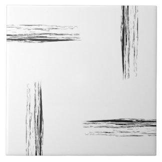 Carreau Le monchrome minimaliste raye la tuile de mur