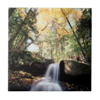 Carreau Le New Hampshire, cascade d'A dans le blanc