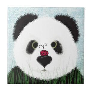Carreau Le Panda Et Son Visiteur
