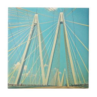 Carreau Le pont de Fred Hartman