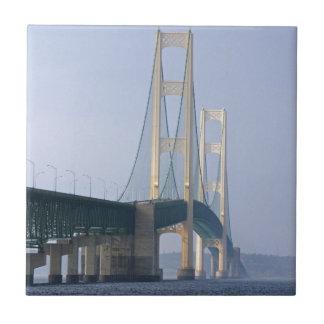 Carreau Le pont de Mackinac