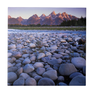 Carreau Le Wyoming, parc national de Teton, la rivière