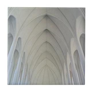 Carreau L'église paroissiale et les points de repère de