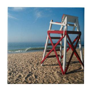 Carreau Les Etats-Unis, Île de Rhode, plage de Charleston,