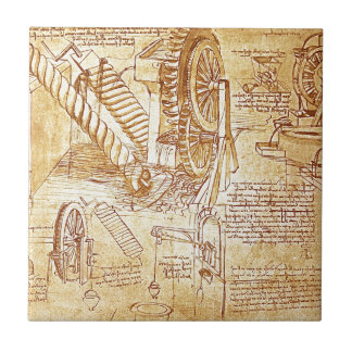 Carreau Les notes de da Vinci