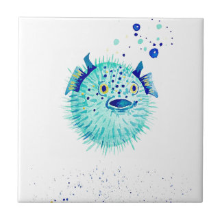 Carreau Les Pufferfish de Neptune