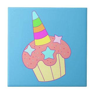 Carreau licorne de petit gâteau