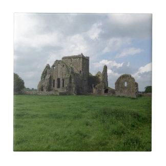 Carreau L'Irlandais d'abbaye de l'Irlande Hore ruine la