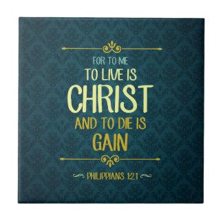 Carreau Live est le Christ - 1h21 de Philippiens