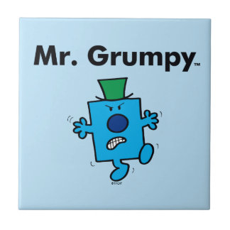Carreau M. Grumpy de M. Men   est un bougon