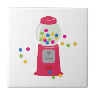 Carreau Machine de bubble-gum