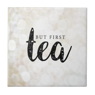 Carreau Mais premier thé