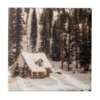 Carreau Maison de Noël