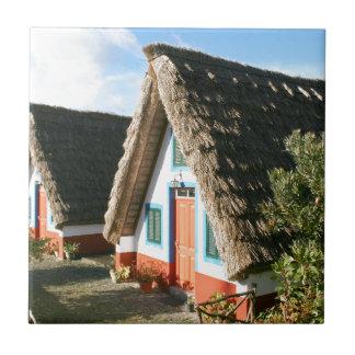 Carreau Maisons typiques d'île de la Madère, Portugal