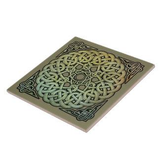Carreau Mandala de Knotwork de Celtic