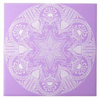 Carreau Mandala de lavande