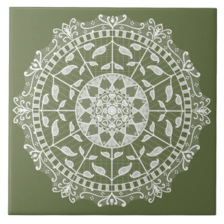 Carreau Mandala de mousse