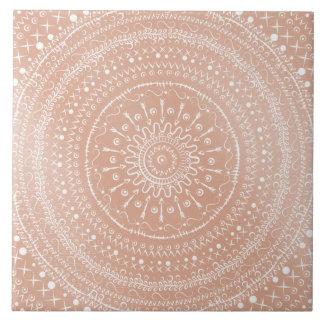 Carreau Mandala tribal géométrique