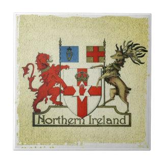Carreau Manteau-de-bras de l'Irlande du Nord