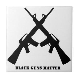 Carreau Matière noire d'armes à feu