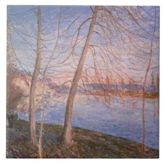 Carreau Matin d'hiver d'Alfred Sisley  