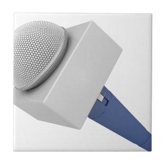 Carreau Microphone de journaliste
