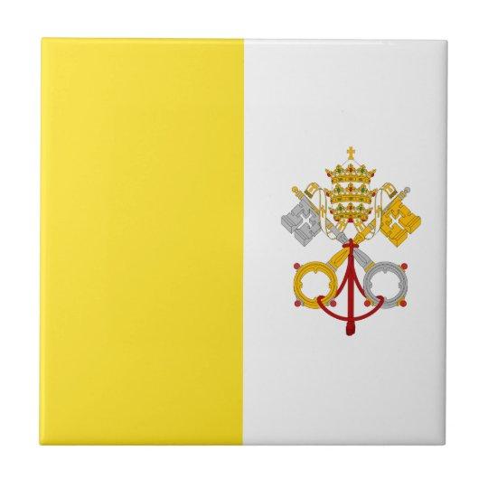 Carreau Miscellaneous - Vatican City Flag Pattern