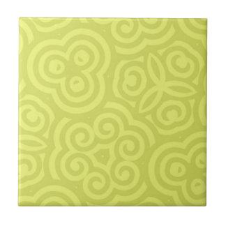 Carreau Modèle abstrait Chartreuse