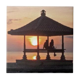 Carreau Moring en île de Bali