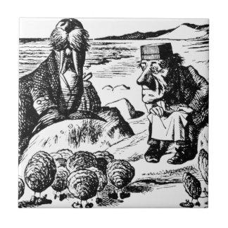 Carreau Morse, Carpeter et huîtres