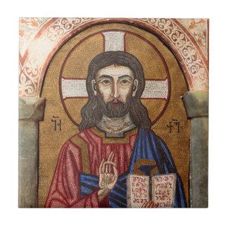 Carreau Mosaïque antique de Jésus