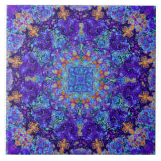 Carreau Motif coloré romantique marocain de mandala