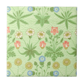Carreau Motif de marguerite de William Morris