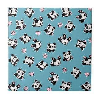 Carreau Motif de panda