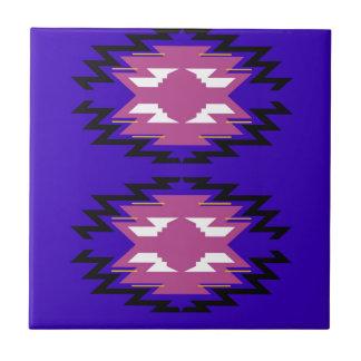 Carreau Motif exotique d'Aztèques de conception