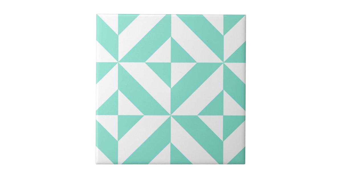 carreau motif g om trique vert de cube en seafoam deco. Black Bedroom Furniture Sets. Home Design Ideas