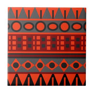 Carreau Motif indigène aztèque